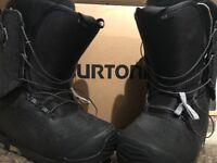 Burton SLX 2017 Size 8 Boots. Like New!