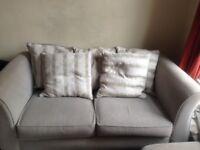 Grey Scatter back Sofa