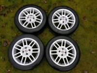 MG twin spoke alloys 4x100 rare