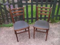 Two Dining Room Chairs Delivery Available