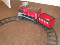 Chad Valley Powered Ride on Train and Track Set