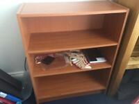 Small bookcase 11.5 inches x 27 inches x33.5 inches height