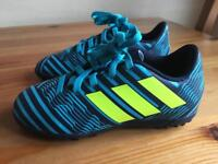 Adidas astro/ football boots kids size 10k