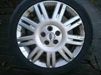 Mondeo alloy and tyre