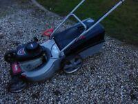 AL-KO 450 self propelling petrol mower.