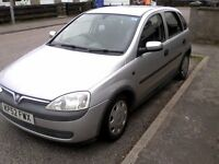 vauxhall corsa elegance 12v good car for a learner driver