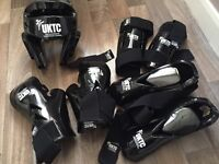 RRP £127 TAEKWON-DO UKTC official pads including gloves shin/ foot guards and gloves