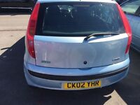 Fiat Punto 1.2 Active 5 dr 12 monts mot only £599