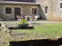 COTTAGE IN FRANCE - holiday or long term , dogs welcome, situated in Poitou Charentes