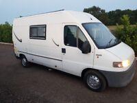 Fiat Ducato campervan for sale