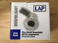 LAP Fire rated downlights x 6 (Screwfix)