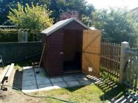 Timber Shed approx 6' x 6' good condition