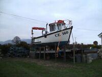 Large Flatbed Boat Trailer