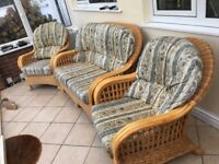 Can conservatory furniture three piece suite