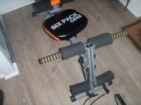 Sick Pack Exercise Machine Nearly New