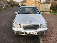 2003 Mercedes Benz C CLASS 1.8 C180 Kompressor Classic SE 4dr Automatic @07445775115