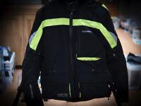 Hein Gericke Gore-Tex Motorcycle Jacket Size 52
