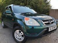 Honda CRV 4x4 Full Years Mot Low Mileage Towbar Drives Great 4 New Hankook Tyres !!!