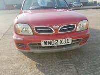NISSAN MICRA,ONLY 37K, 1 YEAR MOT, SERVICE HISTORY ,CHEAP ON TAX AND FUEL ,TIDY £595 ONO