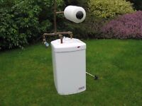 Heatrae Sadia Hotflo 10 Water heater + U5 Expansion Vessel and Check Valve. Excellent Condition