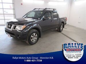 2013 Nissan Frontier PRO-4X! 4x4! Back-Up! Alloy! Heated! Leathe