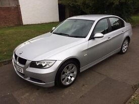 BMW 3 Series 2.0 320i SE 4dr, 6 MONTHS FREE WARRANTY, LEATHER SEATS, FULL SERVICE HISTORY