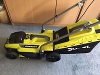 Ryobi Cordless Lawn Mower and Trimmer - COLLECTION ONLY