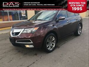 2011 Acura MDX ELITE PKG NAVIGATION/TV-DVD/7 PASS