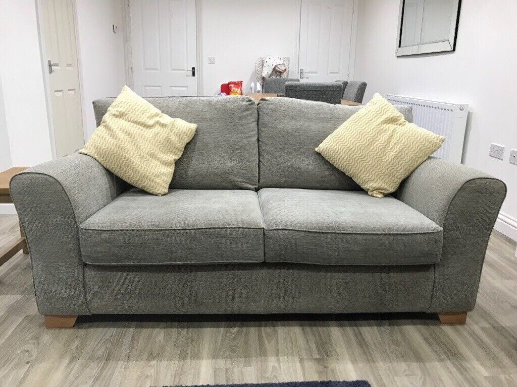 Two Grey Next Sofas sale £250 ONO | in Cramlington, Northumberland | Gumtree