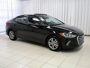 2018 Hyundai Elantra GL SE SEDAN w/ SUNROOF BACKUP CAMERA, BLIND