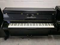 Pristine Gloss Black 'Bentley' Upright Console Piano - CAN DELIVER