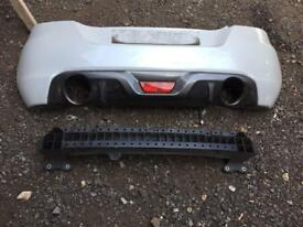 2014 Suzuki swift sport rear bumper complete