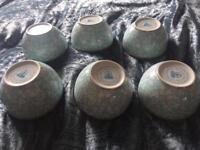 6 x pip studio mini bowls fab condition. Never used