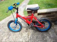childs bike silverfox champion good order