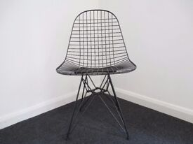 Vitra Eames DKR Wire Chair in black