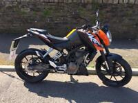 KTM 125 DUKE 1 PREVIOUS OWNER SHEPYSBIKES £1650