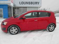2012 CHEVROLET SONIC 5DR HB LT - AWESOME FUEL ECONOMY!