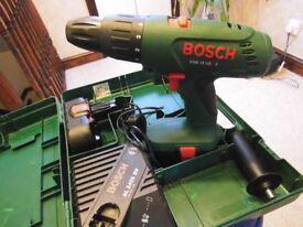 BOSH DRILL 18v combi hammer.