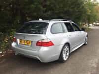 2008 BMW 520D M SPORT TOURING AUTO ESTATE FULL SERVICE HISTORY PARKING SENSORS STUNNING CAR