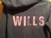 Jack Wills Hoodie Grey Size 8
