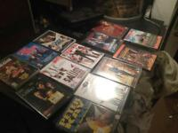 DVDs and DVD player job lot