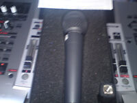 Brand new mic plus brand new cable.