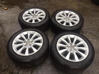 17 inch Audi alloys for sale