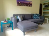 Sofa IKEA NORSBORG Dark Grey - LIKE NEW!!!!! + accessories - ALL INCLUDED!!!!