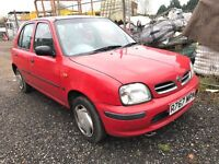 Nissan micra 1.0 automatic,5dr