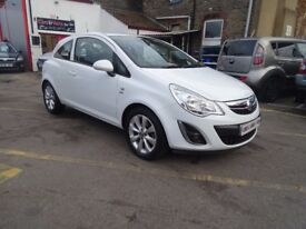 2012 Vauxhall Corsa 1.2 i 12v Active 3dr 1 OWNER LOW MILES 19951 F/S/H