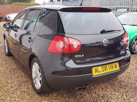 Immaculate VW Golf GT TDI DSG Automatic Low Miles Fully Loaded Pulls Like A Train Very Clean Motor!