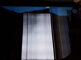 TV with broken screen
