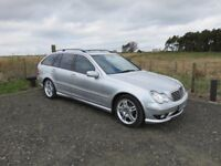 2003 MERCEDES-BENZ C CLASS 3.2 C32 AMG 5D ESTATE AUTO 354 BHP