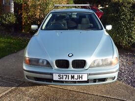 BMW 5 Series (520i SE Petrol) Service History; E/Windows/Mirrors;Cruise Control; 6 CD ; 3 owners